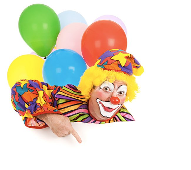 Clown per bambini a Roma