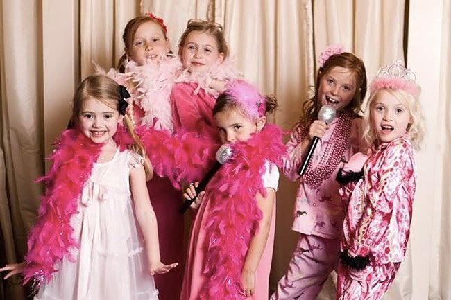 Festa beauty party per bambine a Roma