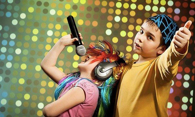 Festa karaoke per bambini a Roma