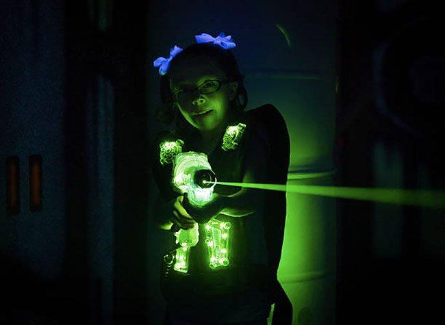 Festa laser game per bambini a Roma