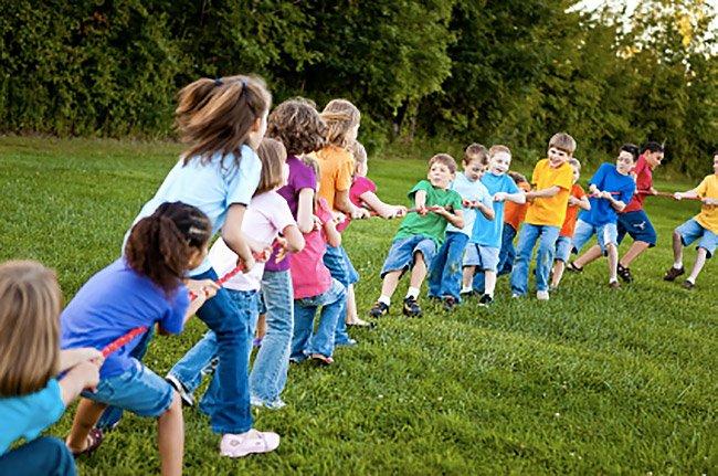 Giochi alle feste per bambini a Roma