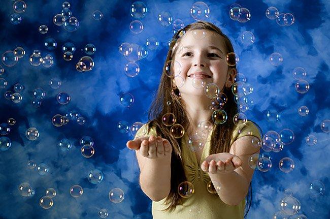 Macchina bolle di sapone in feste per bambini a Roma