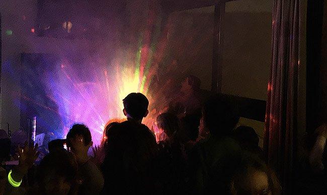 Macchina del fumo in feste per bambini a Roma