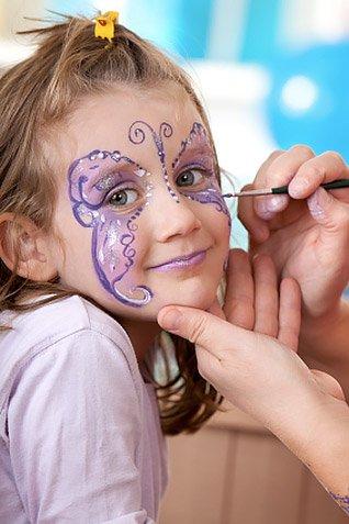 Truccabimbi e Face Painting in feste per bambini a Roma