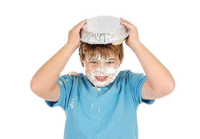 Festa torte in faccia per bambini a Roma