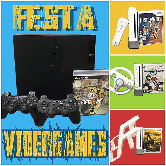 Festa video games per bambini a Roma