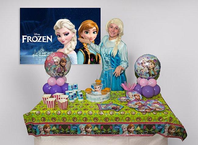 Festa a tema Frozen per bambini a Roma