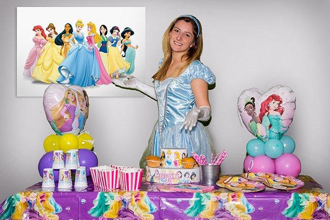 Festa a tema Principesse per bambini a Roma