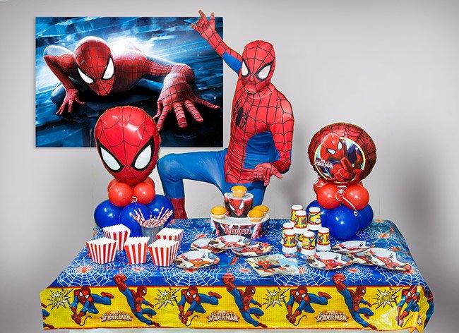 Festa tema spiderman per bambini roma feste a tema for Man arreda ragazzi roma