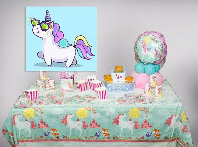 Decorazioni Per Feste Di Compleanno Roma : Festa tema unicorno per bambini roma feste a tema alex animazione