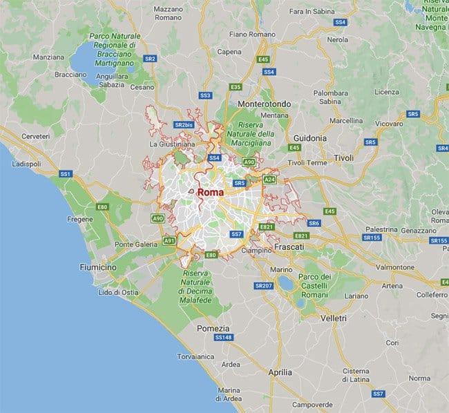 Sale feste per bambini a Roma