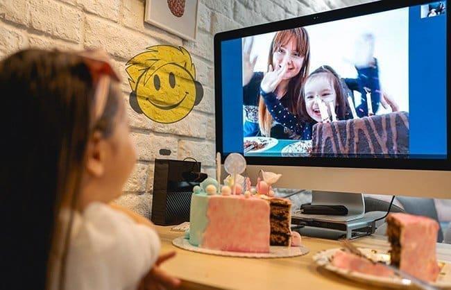 Animazione per feste di compleanno online per bambini
