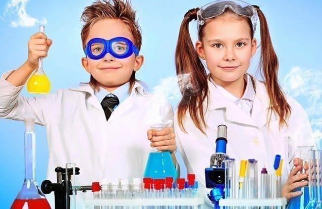 Festa a tema chimica per bambini a Roma