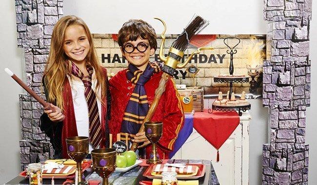 Festa a tema Harry Potter per bambini a Roma